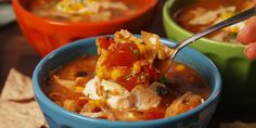 Here's a must-read article from Delish: Crock-Pot Chicken Enchilada Soup
