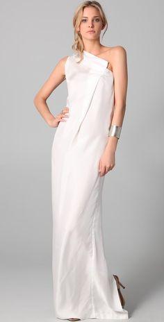 Therese Rawsthorne Long Rectangle Dress