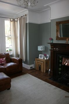 Lounge - Farrow & Ball - Pigeon | Flickr - Photo Sharing!