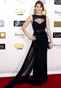 Jennifer Lawrence Critics Choice Movie Awards 2013