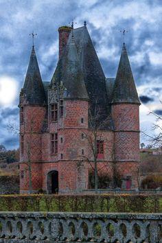 Castle of Carrouges, Orne, France