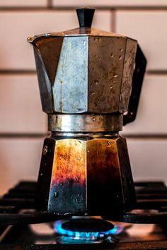 """The old way"" by Helga Sóllilja Sturludóttir, via Ouch. Coffee Images, Little's Coffee, Coffee Spoon, Coffee Is Life, Great Coffee, Coffee Drinks, Italian Coffee Maker, Coffee Photography, Cuban"