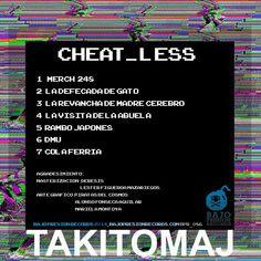 Takitomaj - Cheat_less // Contraportada
