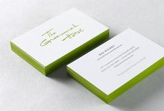 white business card - Buscar con Google