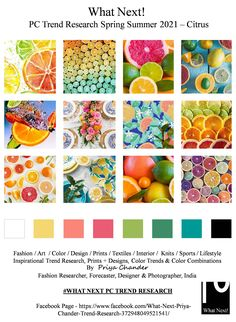 #SS2021 #WhatNextPCTrendResearch #PriyaChanderDesigns #FashionForecastByPriyaChander #ColorTrendsByPriyaChander #fashionconsultant #fashiondesigner #springsummer2021 #fashionforecaster #fabricprints #interiordecor #fashionforecastspringsummer2021 #interiors #homedecor #InteriordesignTrends #knitwear #hautecouture #fashionweekSS2021 #colortrendsSS2021 #fashionforecast #fashion #art #design #fashionresearch #fashionforecasting #sportswear #wallart #folkart #fashionindustry #fashioninspiration New Trends, Color Trends, Design Trends, Fashion Colours, Colorful Fashion, Trend Fabrics, Fashion Forecasting, Colour Board, Hotel Decor