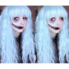 or these for halloween?? Anzujaamu's Flavor-Twilight Crazy Halloween Lens CPF1 (White Out)