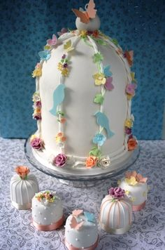 mini wedding cakes | Wedding cakes from The Great Little Cake Company - beautiful wedding ...