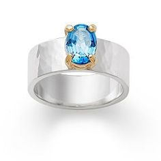 Julietta Ring with Blue Topaz | James Avery