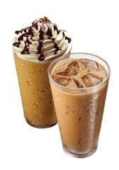Chocolate Mocha: 1 scoop Chocolate Shakeology 1 cup cold coffee (cool the brewed coffee over ice first) 1/2 cup water; or nonfat milk; soy, rice, or almond milk Ice to taste Tip: Add cinnamon and nutmeg for a cappuccino-flavored shake  http://www.teambeachbody.com/tammyroot
