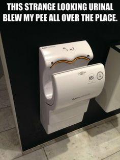 Strange looking urinal - http://www.jokideo.com/