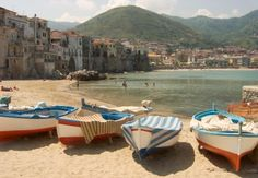 you can take the girl out of sicily, but you can't take the sicilian out of the girl. LOVE THIS CEFALU shot that someone else posted.