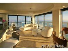 #Luxury #SkyHome | #Penthouse encompasses 3 top floors | Luxury Living 3.3M #DaytonaBeachRealEstate #JoyceMarsh