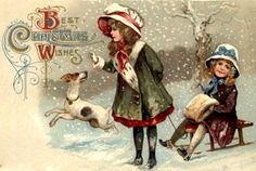 printable vintage Christmas cards and images                                                                                                                                                                                 More