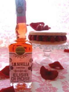 Elisir di Rosa (Rose Liqueur : Santa Maria Novella)