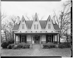 James Sledge House,1860, -- 749 Cobb Street, Athens, Clarke County, GA