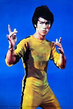 Bruce Lee publicity still from Game of Death (1978)