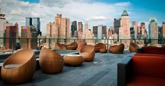 The Press Lounge - Terraza con vistas en NYC