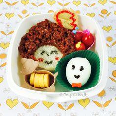 1982 Annie Movie bento lunch | Merry Antoinette