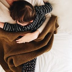 now he grabs a blankie, comes up to my leg and hugs it tightly, telling me he's ready for his snuggle before morning nap in mama's bed. when he's fifteen and dating and breaking curfew, this is what i'll be remembering. we love our cozy knit ❤️ Cute Kids, Cute Babies, Baby Kids, Mommy And Me, Mom And Dad, Little People, Little Ones, Family Goals, Children And Family