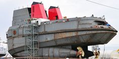 """The Crowley Maritime Type 750 """"Legacy Class"""" Articulated Tug and Barge combination is the largest ever designed. The three 330,000 bbs barges are being constructed at VT Halter, Pascagoula, MS and the three tugs at Dakota Creek."""