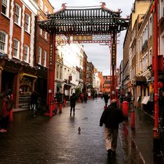 Chinatown in London through my eyes
