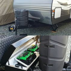 secure RV battery box