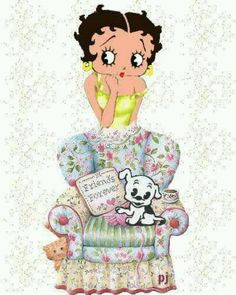 *BETTY BOOP & PUDGY