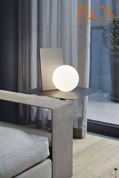Unique and surreal, this item by Flos is something no one expects: when it is switched on, surprisingly a light shines in the beholders' eyes, as if it was a magic.