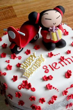 Pucca-themed birthday cake | The Sweet Trick
