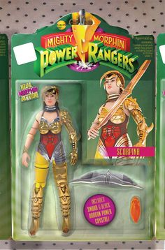 Damn I wish this was real! Scorpina and Rita Repulsa deserved to made as action figures! #∆∆shani