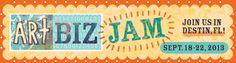 A unique artist retreat focusing on maxizing your art business - ArtBizJam Subject Of Art, Artist Workshop, Portfolio Site, Make New Friends, Art World, Unique Art, Business Tips, Artsy, Learning