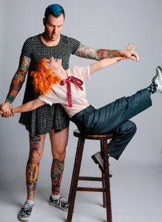 Chad and Hayley as Each Other