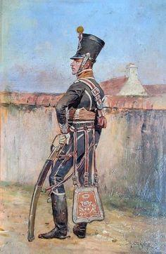 Napoleon, Soldiers, Samurai, Empire, Orange, Painting, Art, Hunters, Horse