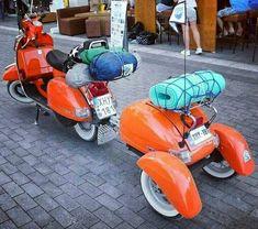 . . ,,,Selamat pagi ,, ☕☕ Siiiaap berangkat touring ,, 💨💨 . . #repost @vintage_scooters #vespaholics #touringvespa #scooterist… Touring, Motorcycle, Vehicles, Vintage, Vespas, Motorcycles, Car, Vintage Comics, Motorbikes