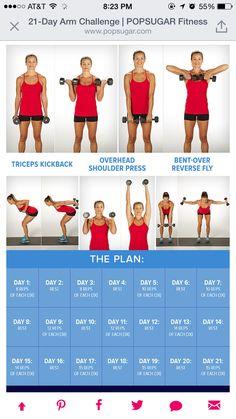 21 day arm challenge