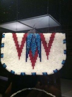 NYS Museum - Native American beadwork