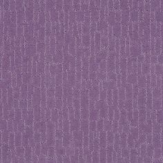 "carpeting by Shaw Floors in the HGTV collection style ""Stylish Element"" color Petunia"
