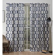 Exclusive Home Curtains Kochi Linen Blend Grommet Top Curtain Panel Pair, Teal, 2 Piece Window Curtains, Exclusive Home, Window Decor, Curtains, Panel Curtains, Drapes Curtains, Luxury Linen, Home Curtains, Bed Bath And Beyond