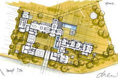 drew architects | sable hills farmhouse | sketch