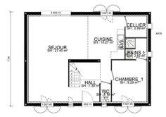 Maison - Marin - RDC - Habitat Concept - 128000 euros - 120,7 m2 | Faire construire sa maison