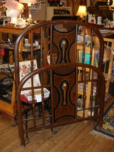 Pair Antique Metal Beds Twin Single Art By Foroldtimessakeantiq 59500