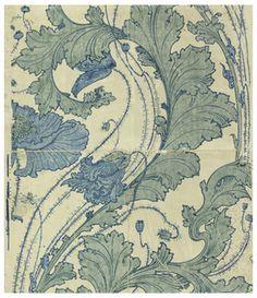 Sidewall, Burmese Poppy, 1896