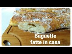 Homemade Baguette I easy and tasty recipe 🥖 Pizza, My Favorite Food, Favorite Recipes, Tasty, Yummy Food, Baguette Francese, Food And Drink, Panini, Bread