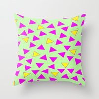 Throw Pillow featuring WHAT IS LOVE? by Laura Nadeszhda