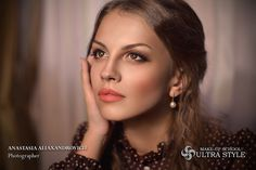 Professional Make-Up School by Anastasia Aliaksandrovich. Belarus, Minsk ultra-style.biz
