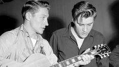 Elvis & Scotty Moore - 1956
