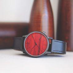 Komono Winston Black Wood Watch :: Maxton Men