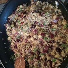 Quinoa Stuffed Pork Tenderloin