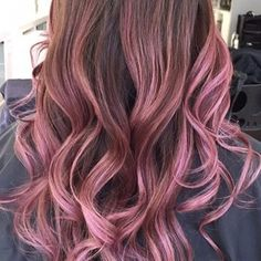 Balayage by @lorettatomhair @pink @ombre @rose | Yelp