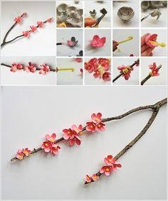 Would be nice with white flowers. Cute idea